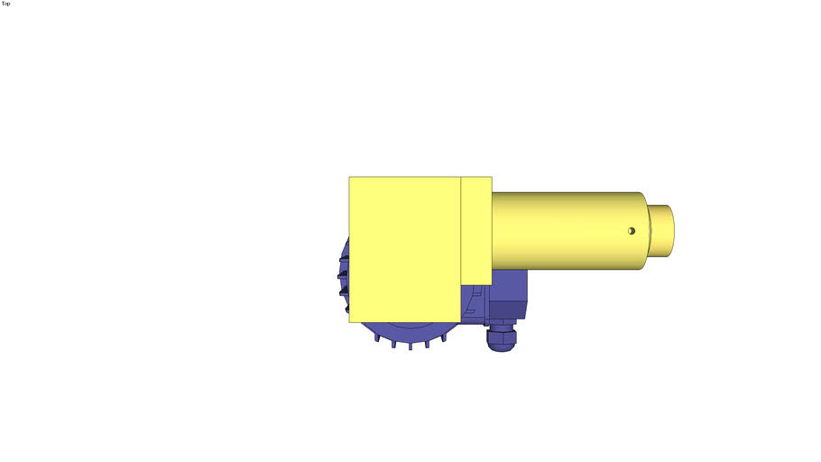 Actuator without limit switches