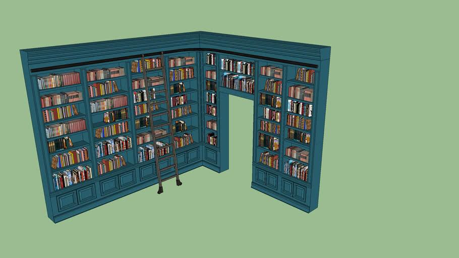 Library Corner Wall