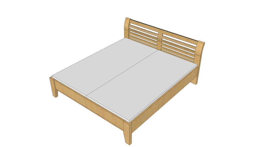 Double bed Atlanta