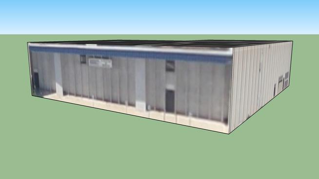 Building on North Klein in Oklahoma City, OK, USA