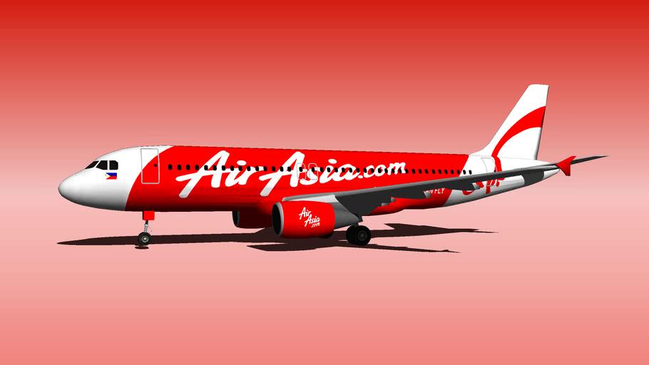 Filipina AirAsia PQ Airbus-A320-200 2
