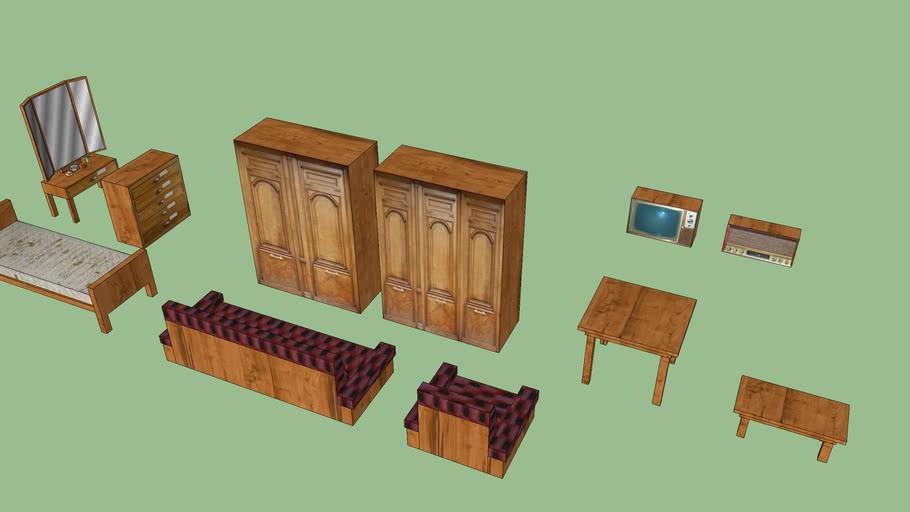 wood furniture   3D Warehouse
