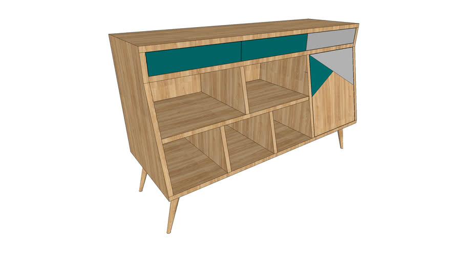 Buvete console table