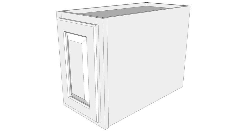 """Briarwood Wall Cabinet 24W1218 - 24"""" Deep, One Door"""