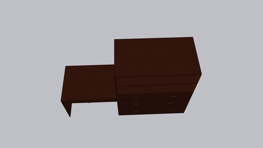Desk Shelf Cabinet