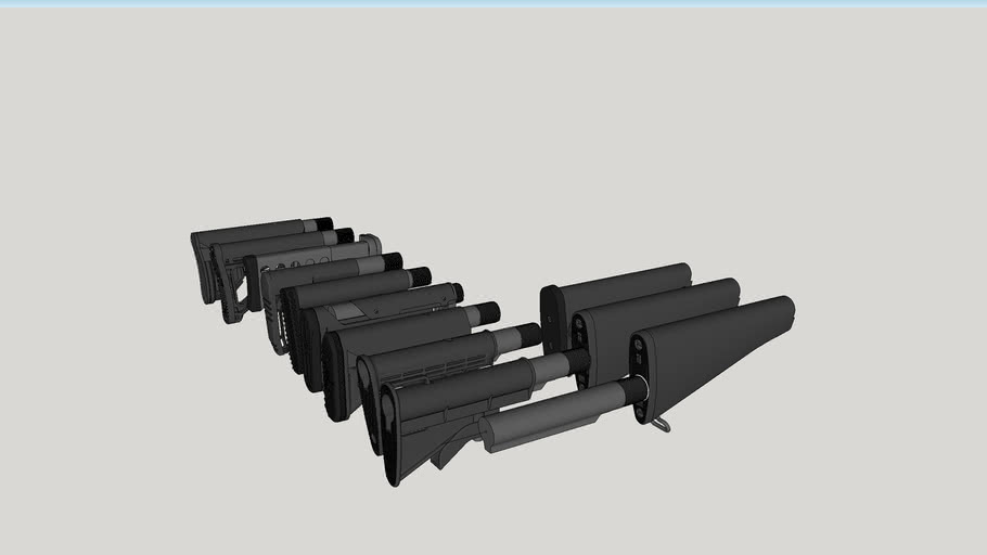 AR-15 & AR-10 stocks
