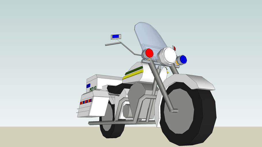 MIAMI DADE POLICE MOTORCYCLE