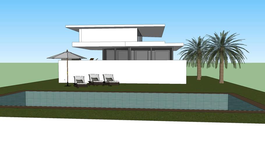 Casa Con Piscina De Diseño