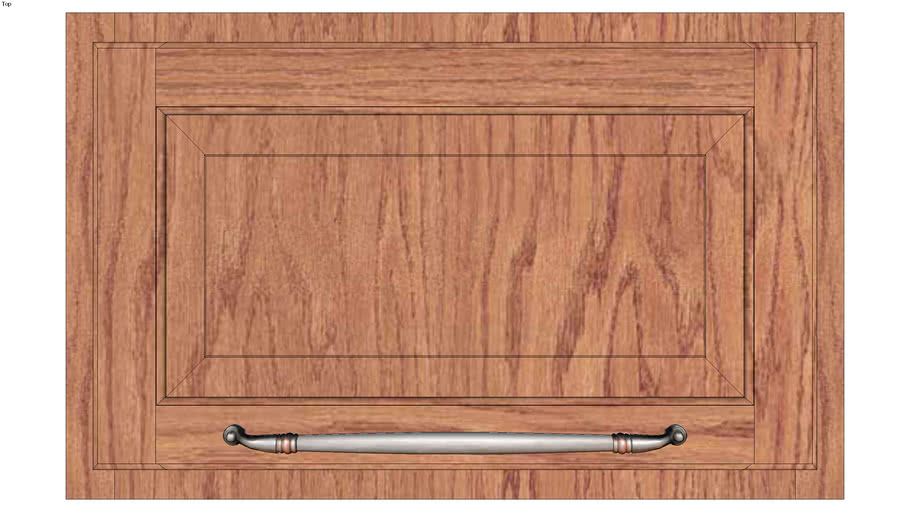 Wall Top Hinge Cabinet 15H