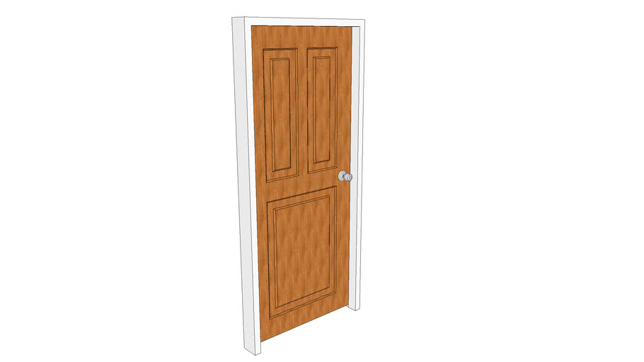 Entrance Panel Door