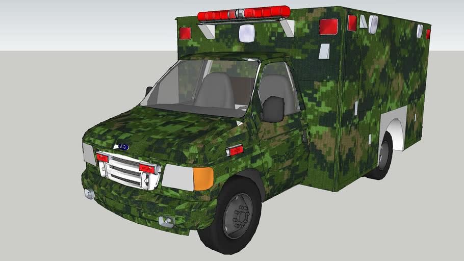 ambulancia de la sedena de mexico