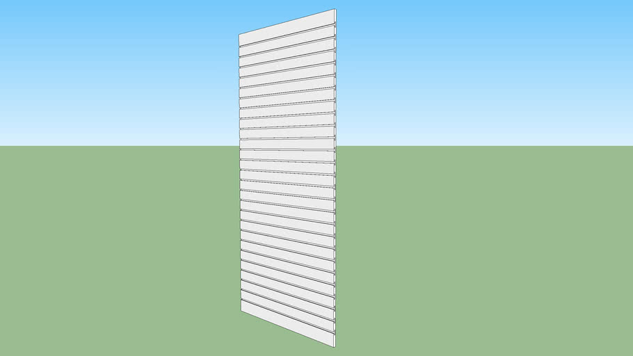 slot wall 4 x 8
