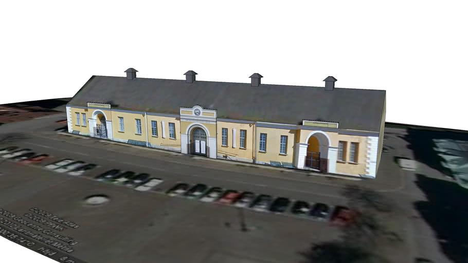 Yellow Building Drottningtorget