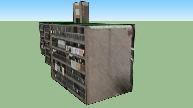 日本, 福冈的建筑模型