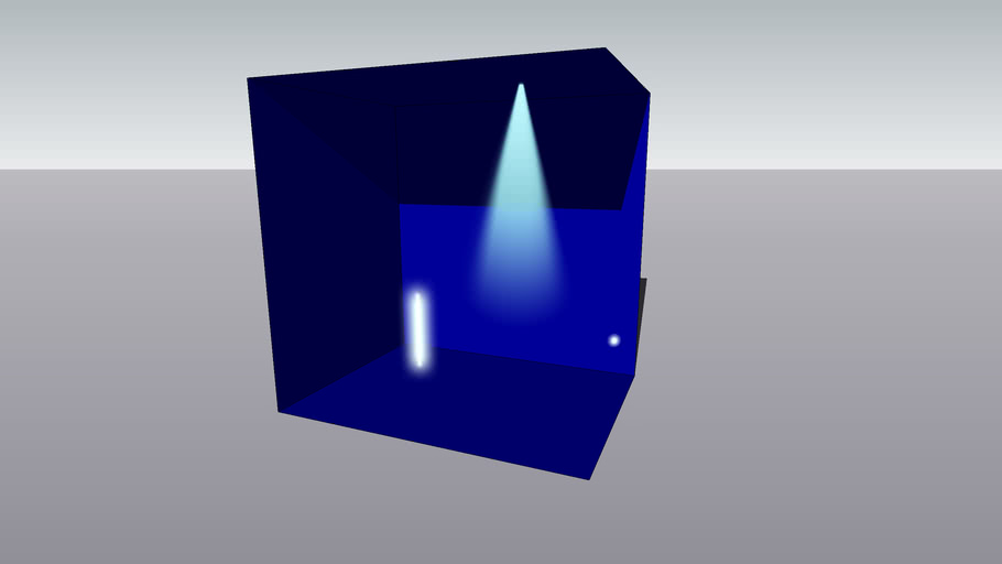 simulation of light