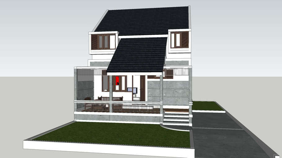 Small Modern Victorian House