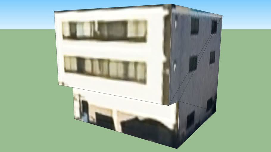 Building in Suita, Osaka Prefecture, Japan