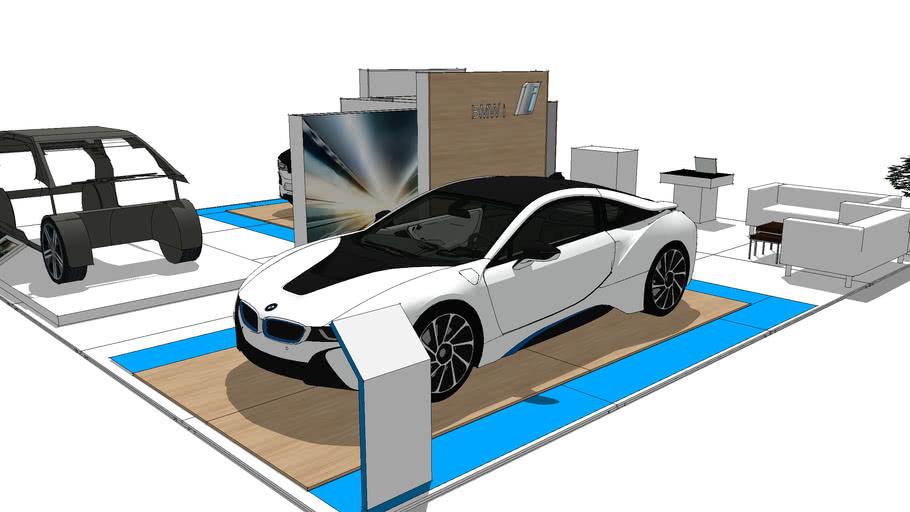stand design 2016 BMW