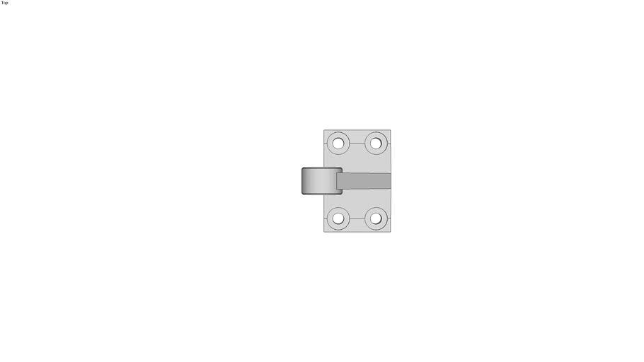 Double Clevis Pivot Bracket