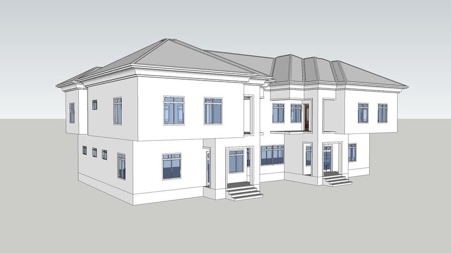 Four bedroom Duplex Semi detached