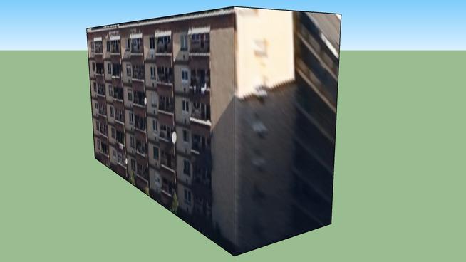 Budova na adrese Budapešť, Maďarsko