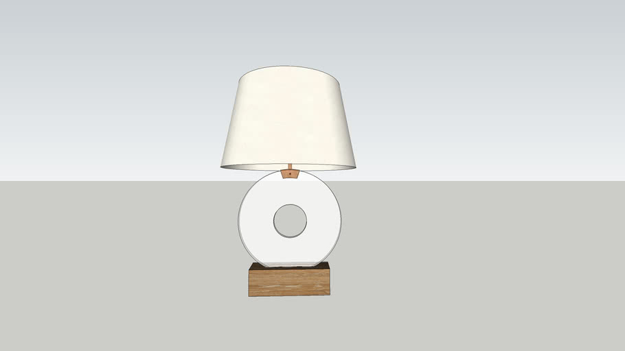 Jean-Michel Frank Disque Lamp