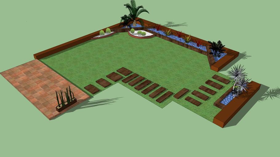 HS Jardineria diseño jardin Zaragoza