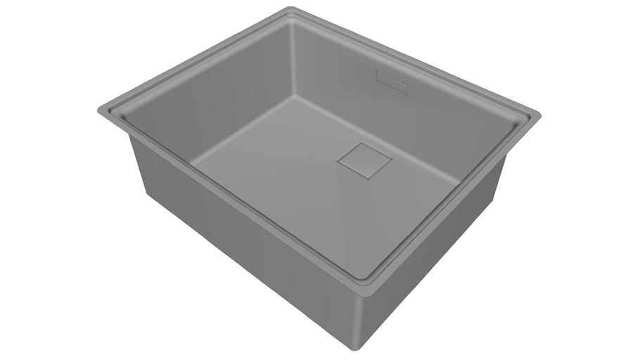 Franke fregadero centinox 210-50 para mueble de 60 cm. bmg o a rás