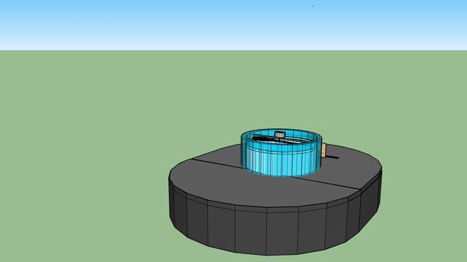 School Project: Hovercraft Model