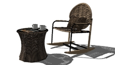 outdoor furniture and stuff