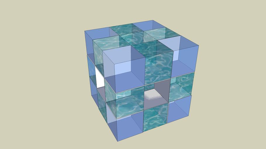 Adonai - Cubo di cubetti di cristallo