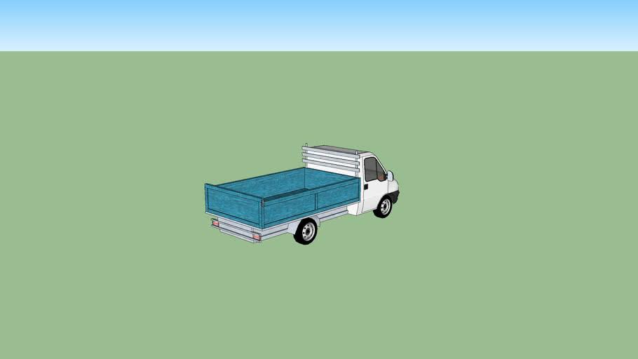 Fiat Ducato Pick Up Truck