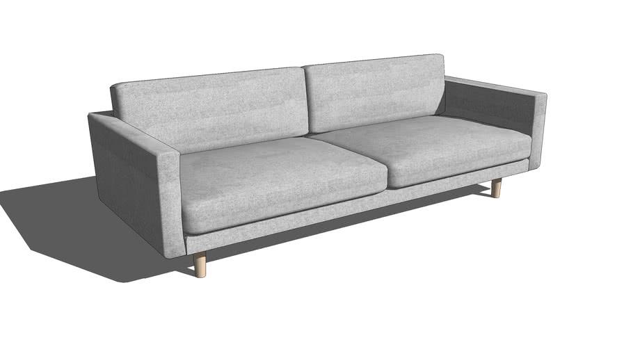 Sofa simples 2 lugares