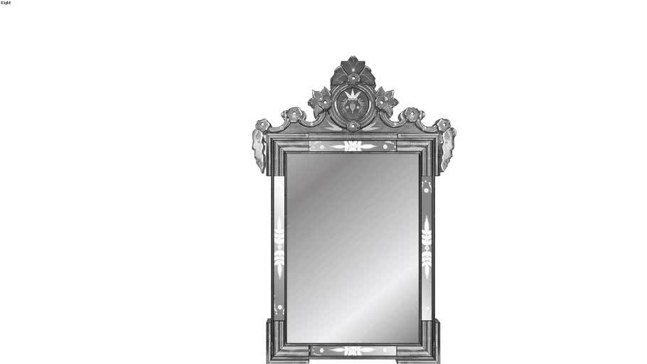 Mirror Ornate Antique Boroque