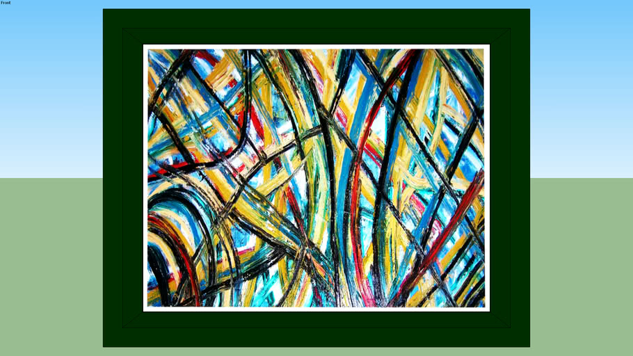 Table tablo pano manzara picture resim painting boyama with abstract