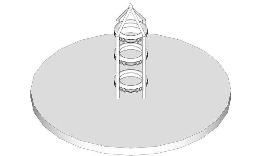 Climbing Frame - 4 Pole Rocket Ship