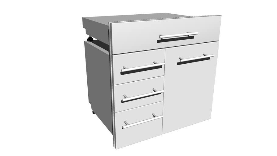 Designer Series  - DE-LPCTD30 & DE-SD30 Combo Drawer Assembly