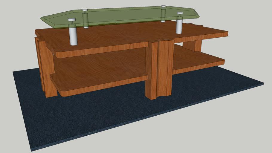 mesa de centro tropicalia