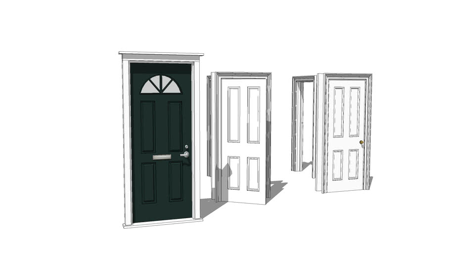 traditional English doors