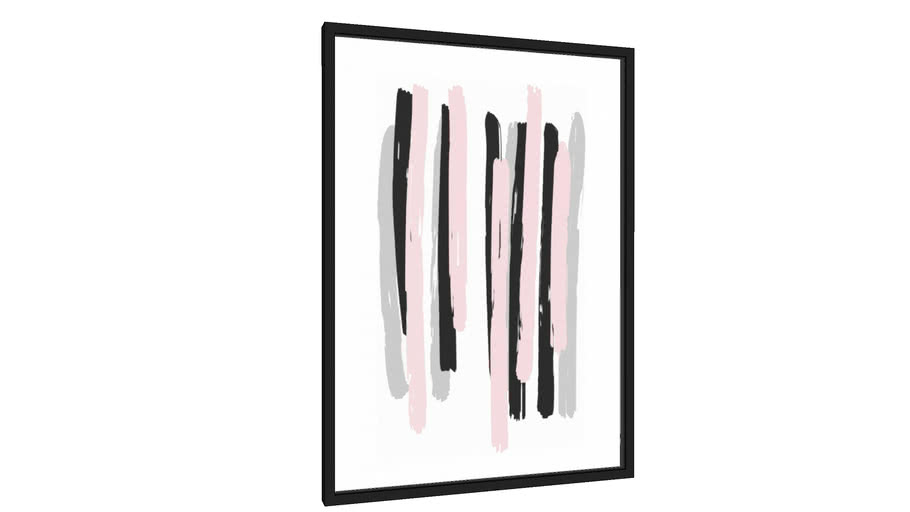 Quadro Brush Stripes - Galeria9, por Rachel Moya