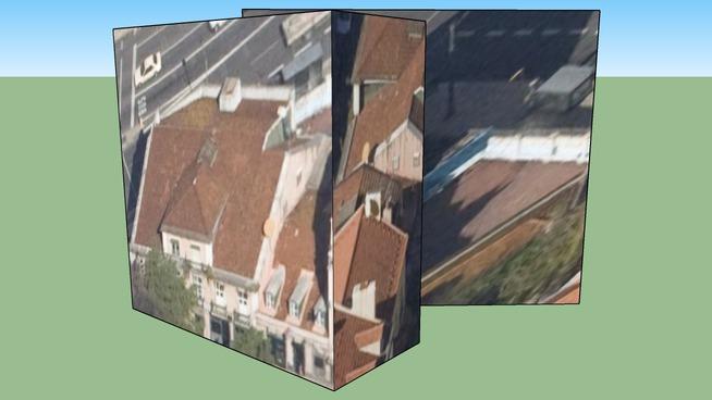Construção Largo do Rato em Lisboa, Portugal