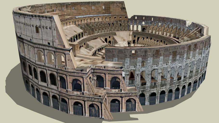 anfiteatro de Flavio en Roma