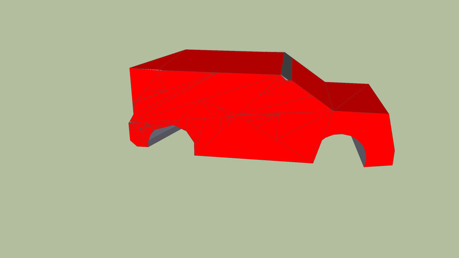red rally car (unfinished)