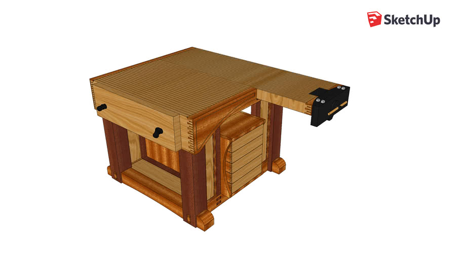 Joinery & Shaping Woodworking Bench