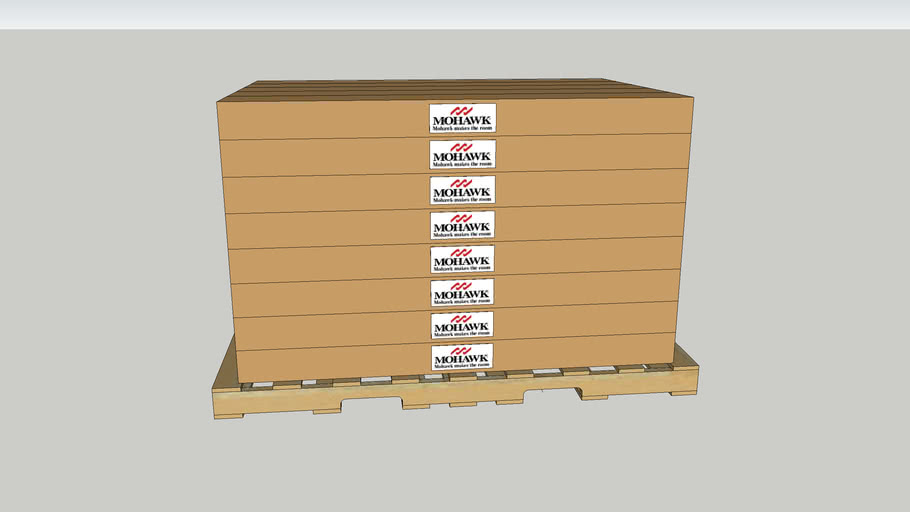 Mohawk Hardwood Flooring Pallet