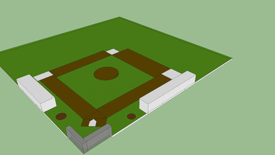 back yard baseball feild