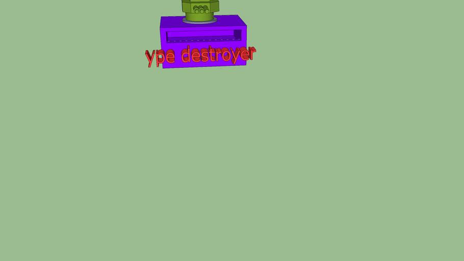 ype destroyer