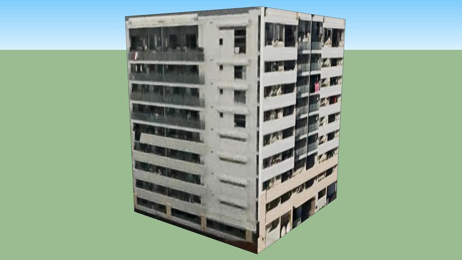 Building in Fukuoka City, Fukuoka Prefecture, Japan