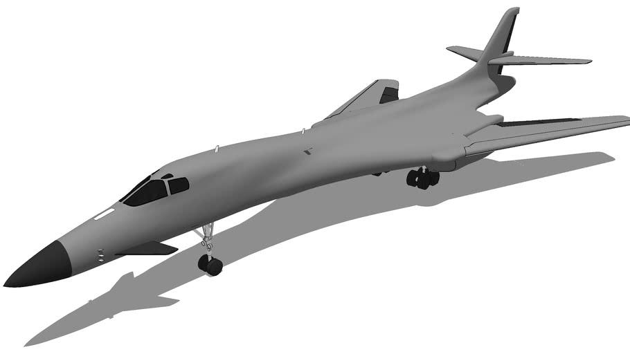 Aircraft - Rockwell B-1 Lancer
