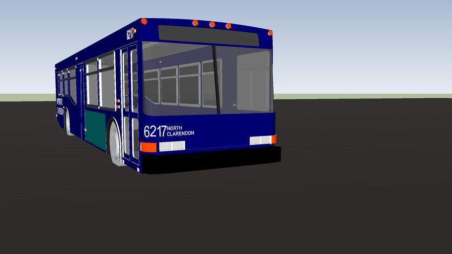 clarendon shuttle bus 6217